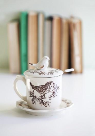 So cute! Ceramic Teacup set