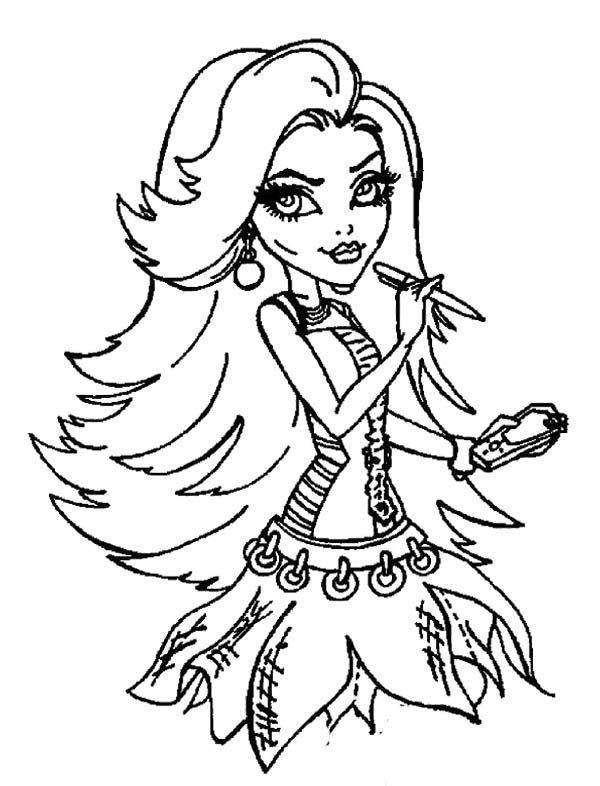 baby spectra monster high coloring pages   229 best images about Monster High Coloring Page on ...