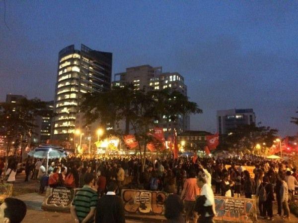 G.H.: Manifestação contra Temer reúne mais de 5 mil em S...