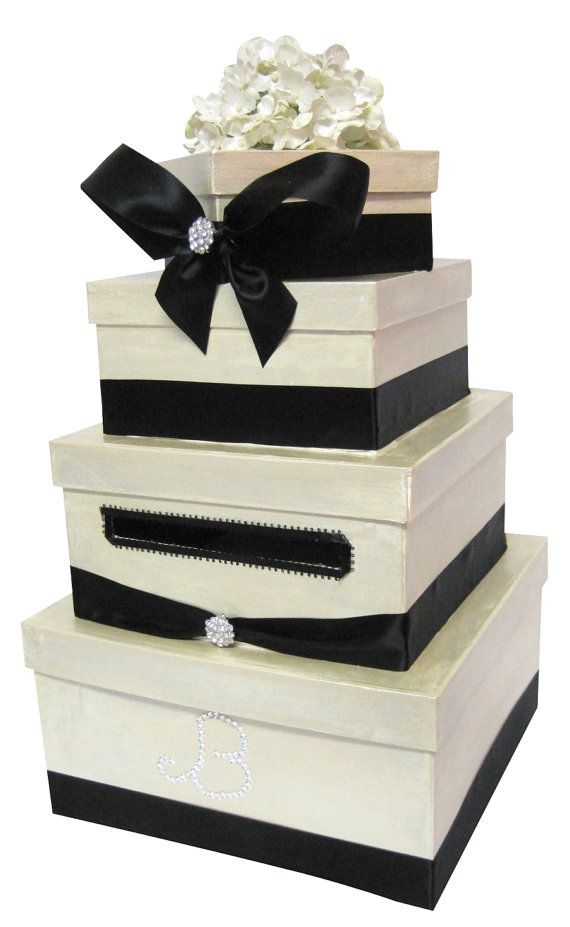 Lovely wedding card box from the original