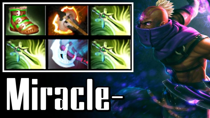 Miracle- Anti-Mage with 3 Butterfly - Dota 2 Full Game (Ranked, 8340 MMR)