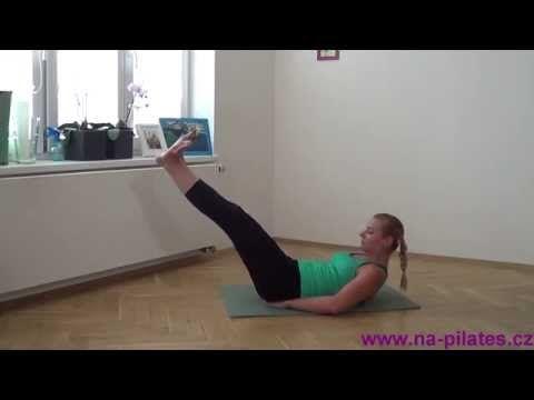 Pilates klasika pro středně pokročilé I - YouTube