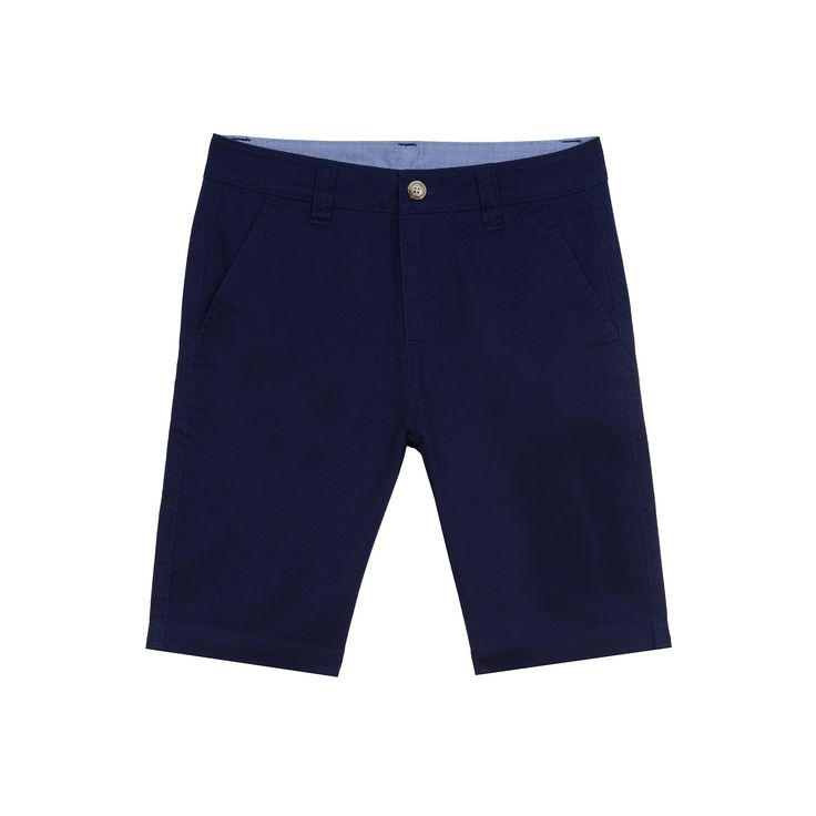 Boys 4-20 Chaps Flat-Front Shorts, Boy's, Size: 14, Blue Other