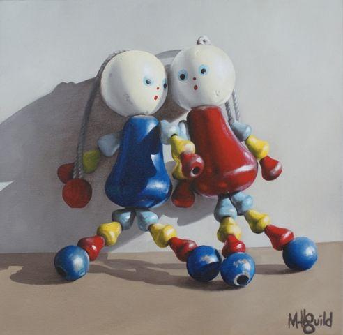 Mary Lou Dolls by Matt Guild for Sale - New Zealand Art Prints