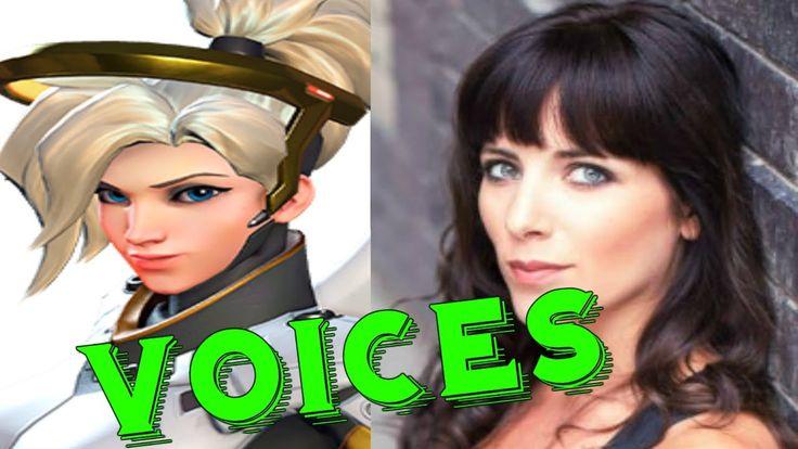Mercy: All Voice Lines Overwatch - Voice Actors Overwatch Characters lin...