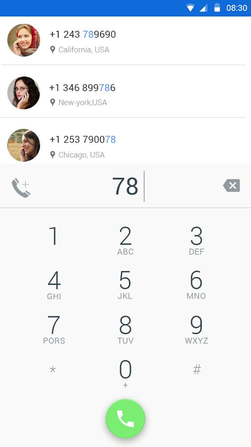 Mobile Phone Number Tracker- screenshot