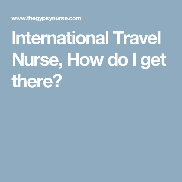 Best 25+ International travel nursing ideas on Pinterest - missionary nurse sample resume