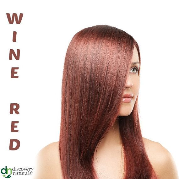 4 Wine Red All Natural No Chemical Hair Dyes that cover Gray Buy 3 Get 1 FREE    Henna Maiden Hair & Eyebrow Dye is Natures Way to Cover Grey. Henna &