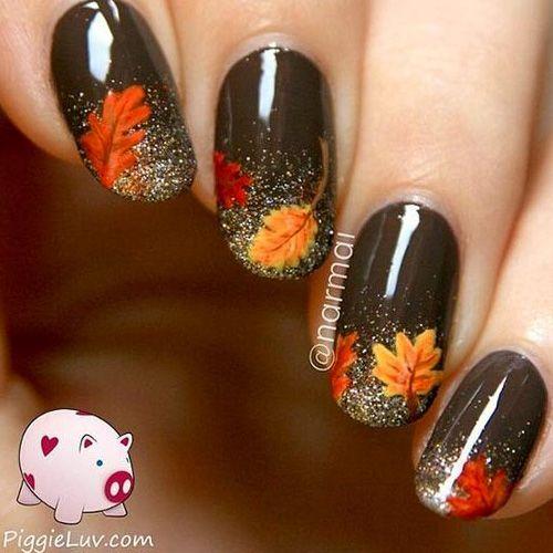 Best 25+ Thanksgiving nail art ideas on Pinterest ...