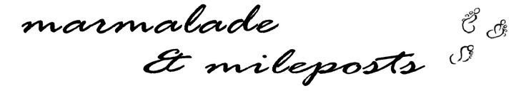 Carrie Brown  |  Marmalade and Mileposts logo