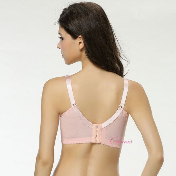 pink bra that hides your back fats