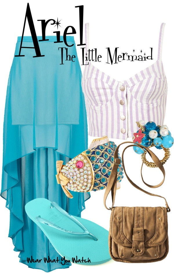 Inspired by Disney's Ariel, voiced by Jodi Benson, in The Little Mermaid.