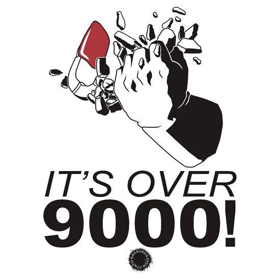 Vegeta its over 9000 black