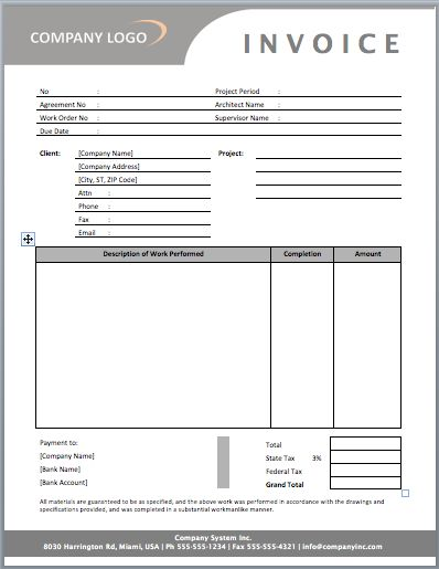 86 best Excel Invoice Template images on Pinterest Invoice - contractor invoices
