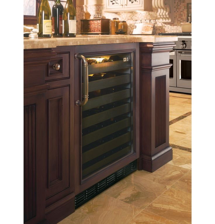 Kitchen Island Refrigerator: 9 Best Kitchen Island Remodel/wine Fridge Install Images