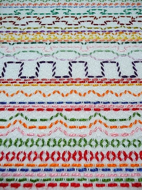 My first ever embroidery! by Bloom and Blossom, via Flickr
