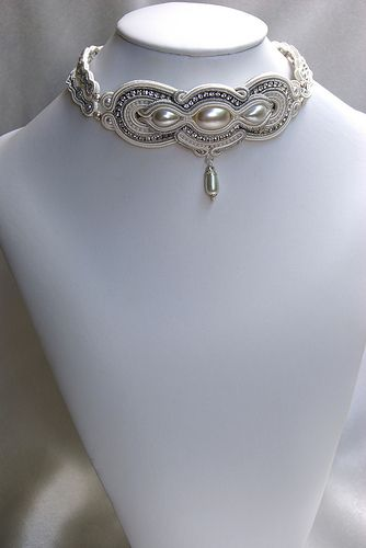 Bridal Soutache Choker