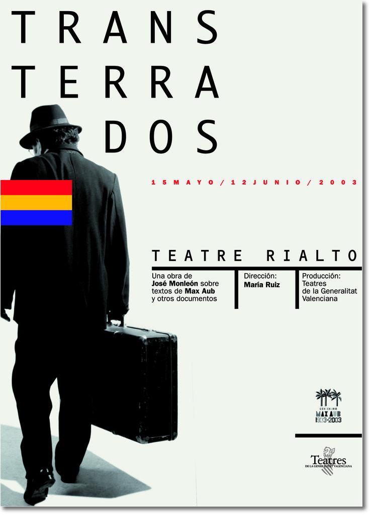 Cartel para obra de Teatro.