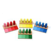 Gezinsauto versie baby speelgoed montessori kleur resemblance sorteren taak houtsoorten vroegschoolse voorschoolse kinderen speelgoed brinquedos juguetes(China (Mainland))