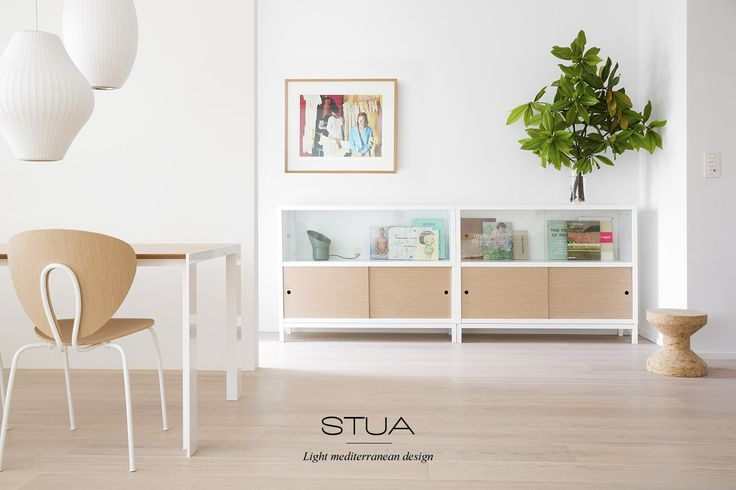 WHITE IS THE COLOR: Peace, purity, freshness… white color expresses simplicity in a home. It is STUA's favorite color. In STUA's latest finishes collection, Sapporo is also offered with a white base.