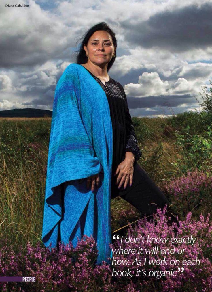 Diana Gabaldon Scots Magazine                                                                                                                                                                                 More