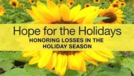 """""""Hope for the Holidays: Honoring Losses in the Holiday Season"""""""