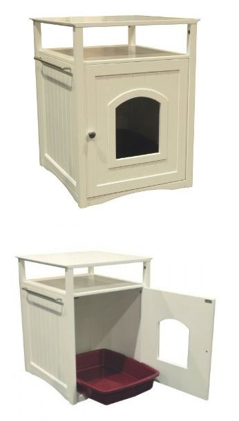 ARENERO OCULTO GATO cat litter box