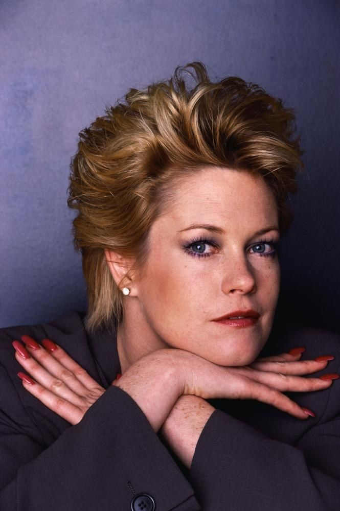 Melanie Griffith before she had some really bad plastic surgery