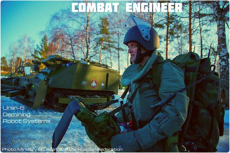 #Combat #Engineer #Uranium #Uran6 #Robot #sapper