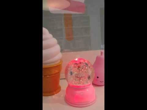 Djeco #nachtlampje #sneeuwbol #roze #ballerina #kinderkamer - # ...