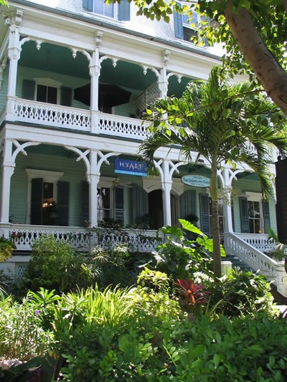 I love the beautiful beach architecture in Key West.