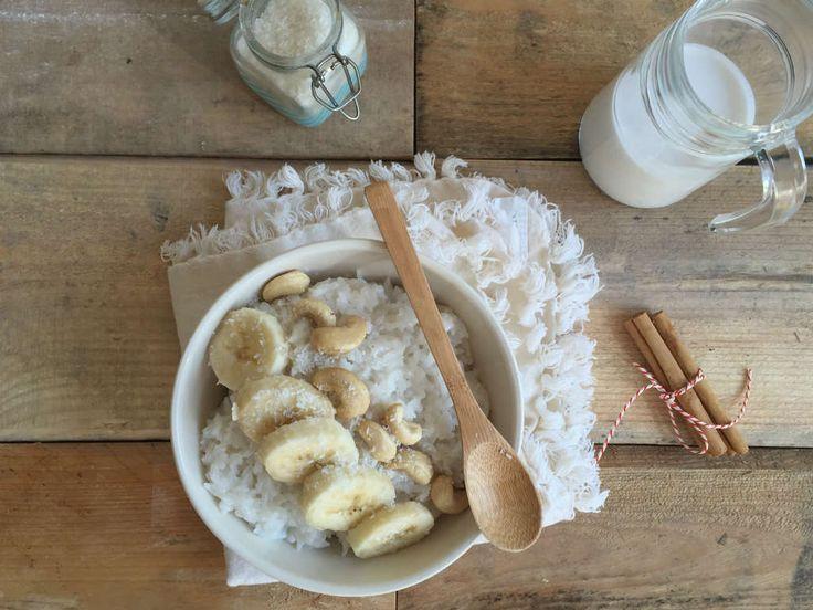 kokos rijstpap