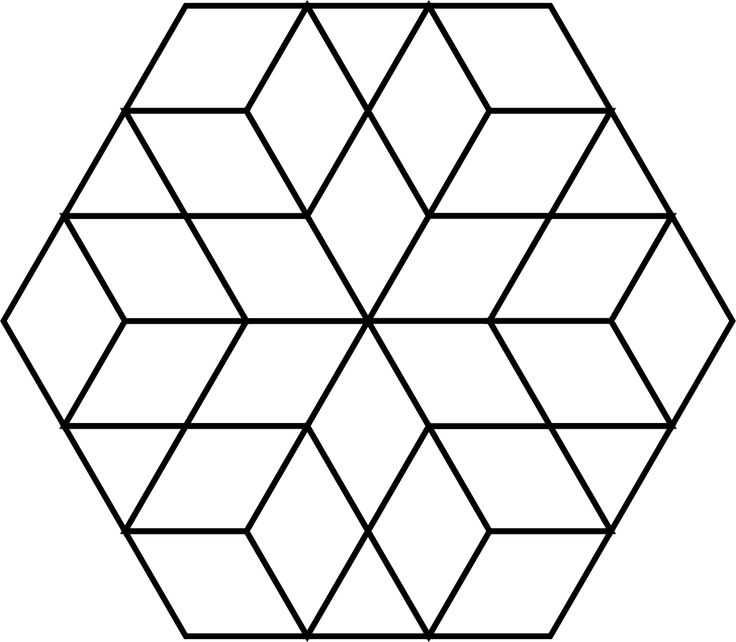 29 best Paper piecing images on Pinterest Hexagons, English - octagon graph paper