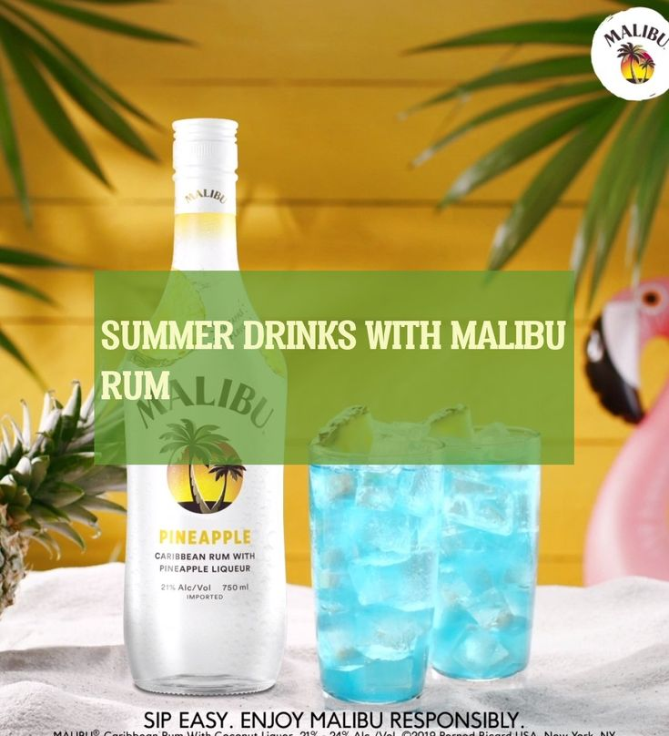 Cocktailrezepte Mit Malibu