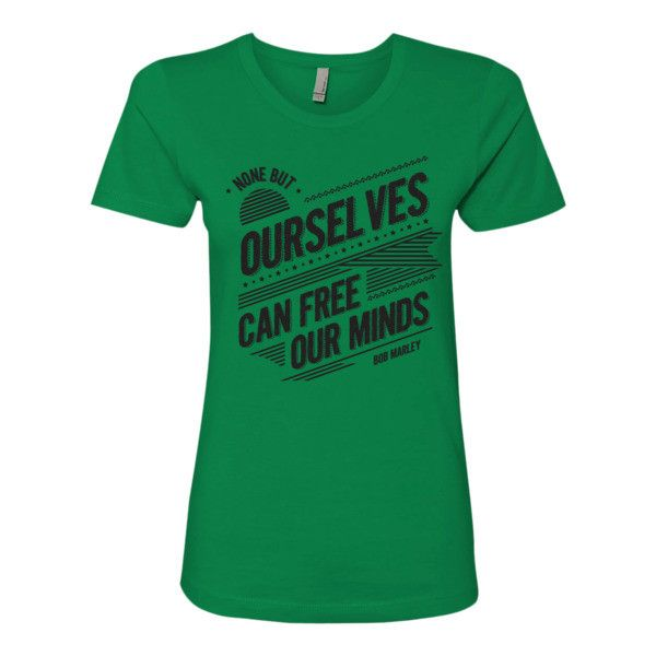 Bob Marley Quote T Shirt