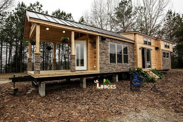 A park model cabin from Lil Lodges