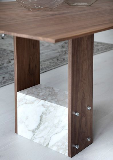 Very cool. Don't know how practical but I love it. Porada SHanti Table detail