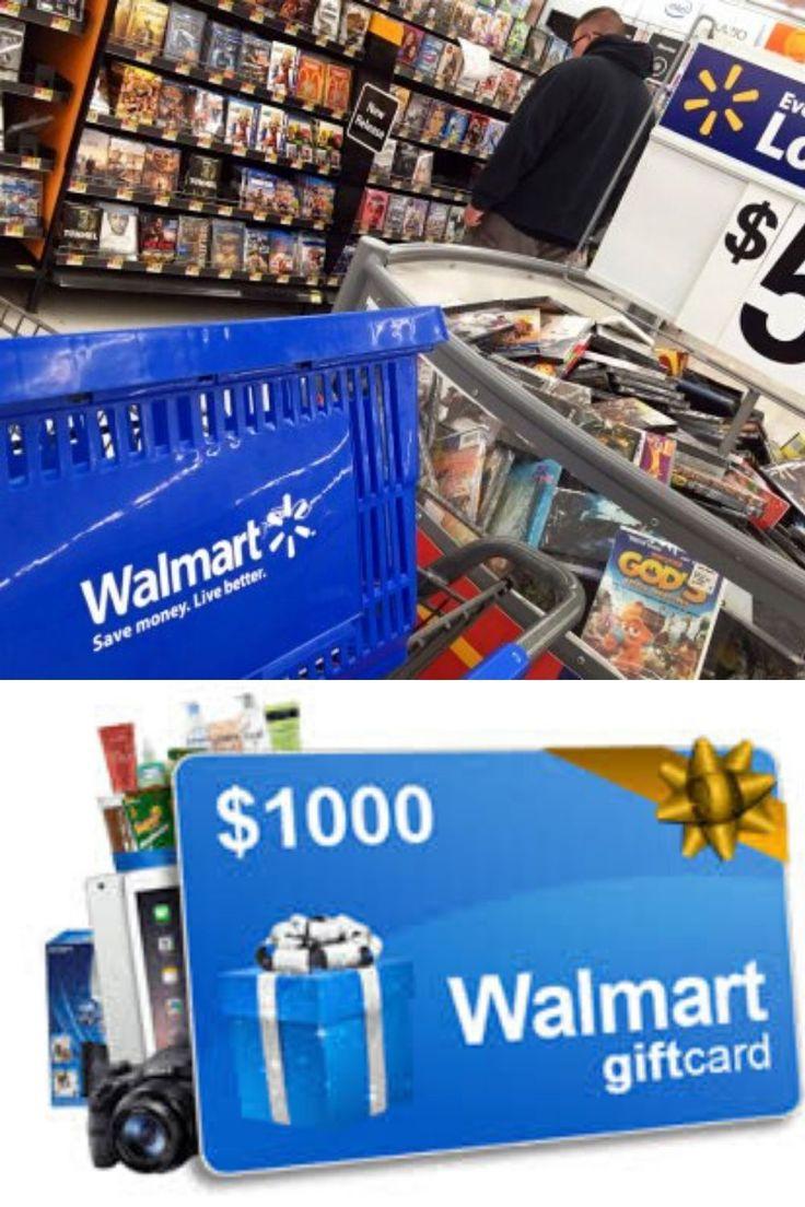 Get free 1000 walmart gift card 2020 in 2020 walmart