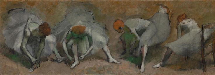 """Frieze of Dancers"" - 1895, Edgar Degas"