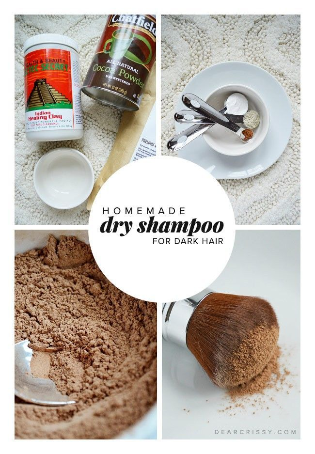 Mediumdark Fantastic Homemade Shampoo Recipe Super Great Easy Hair This Must Best Have Homemade Dry Shampoo Dry Shampoo Diy Dark Hair Dry Shampoo