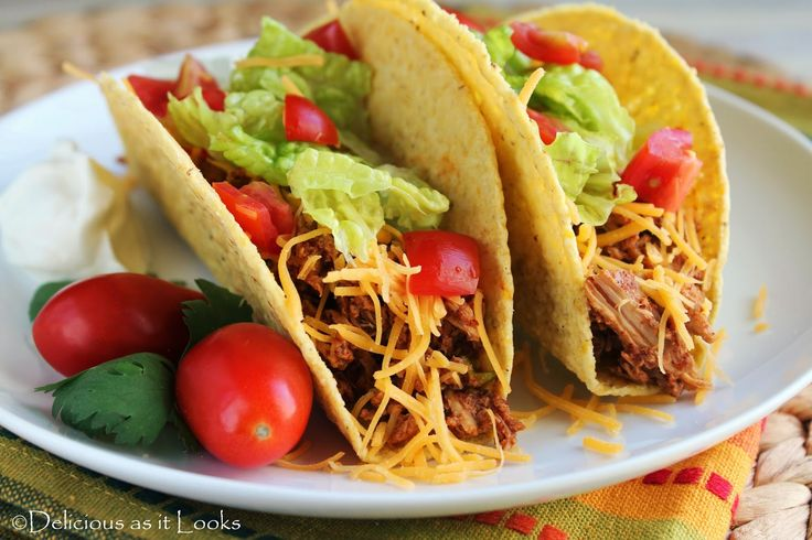 Crock Pot Chicken Tacos /  Delicious as it Looks LOW FODMAP