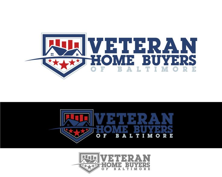 Veteran Home Buyers' Company Logo Bold, Masculine Logo Design by Th3o