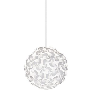 Vita Lighting Inc Lora 1 Light Globe Pendant & Reviews | Wayfair