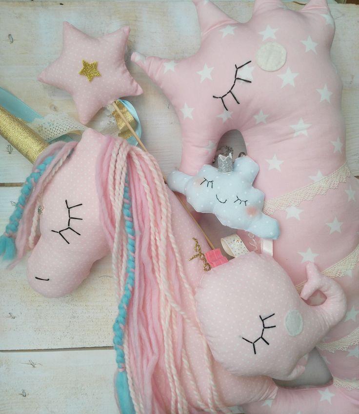 Decorative nursery pillows