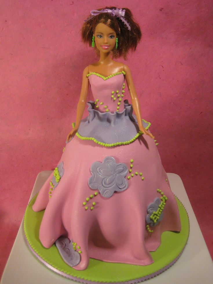 Best Torturi Papusi Images On Pinterest Barbie Cake Doll - Birthday cake doll designs