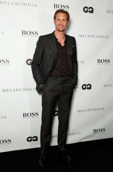 Alexander Skarsgard attends Hugo Boss / GQ Party at The 2011 Toronto International Film Festival at Hugo Boss Store on September 10, 2011 in Toronto, Canada.