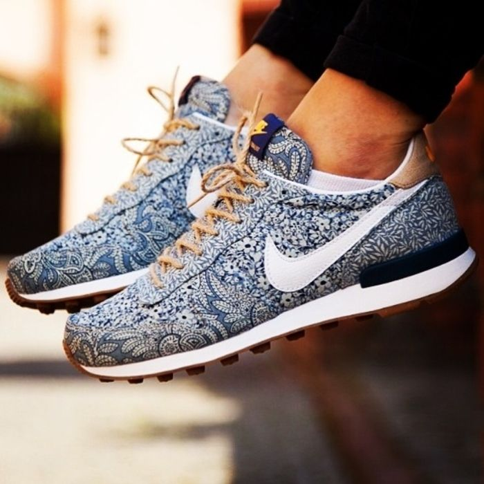 Nike internationalist x Liberty London.