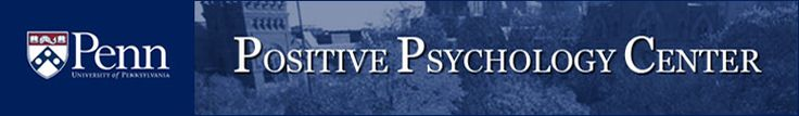 University of Pennsylvania Positive Psychology Center Army Resilience Training links and information