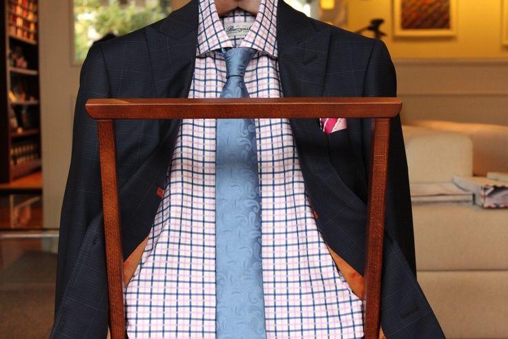 https://www.facebook.com/media/set/?set=a.10151882493904844.1073741979.94355784843&type=1  #madetomeasure #buczynskitailoring #dormeuil #aquaplan #suit #windowpane