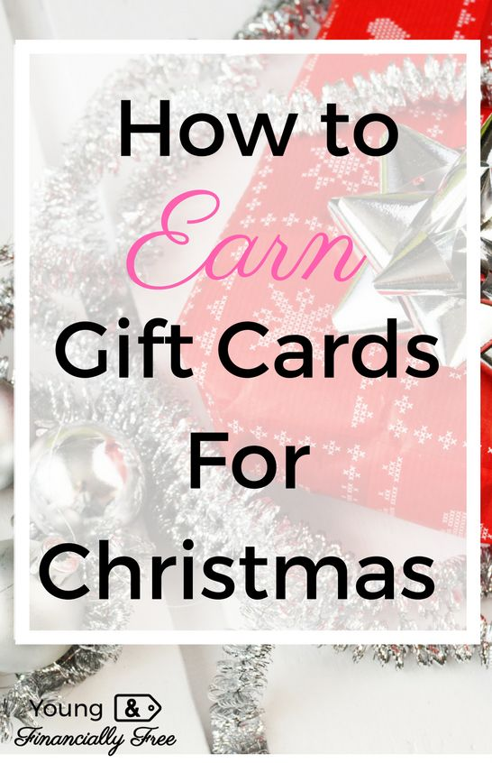 Earn Gift Cards   Earn Money   Christmas Shopping   Young & Financially Free